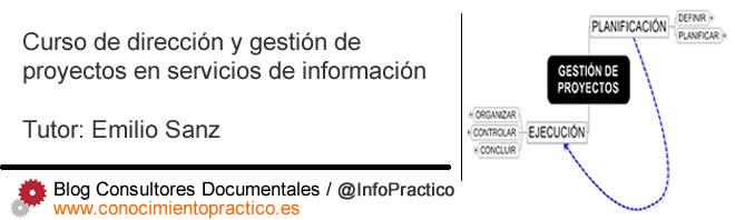 Gestión de proyectos en servicios de información